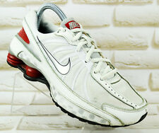 NIKE Shox Turbo VII Womens White Sports Shoes Running Trainers Size 5 UK 38 EU