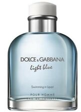 Dolce & Gabbana Light Blue Swimming in Lipari edt 4.2 oz men TESTER