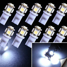 10x T10 Led Canbus Error Free 5 SMD Car Side Wedge light Bulb White 168 194 W5W