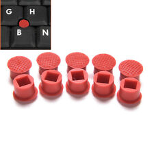 10pcs Rubber Mouse Pointer TrackPoint Red Cap for IBM Thinkpad Laptop Nipple CA