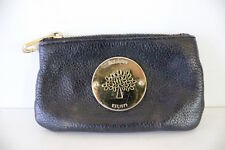 Mulberry purse designer leather wallet coin pouch festival zipped key chain real