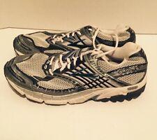 Men's Brooks Beast Silver/White /Blue MoGo DNA 12.5 Running Shoes