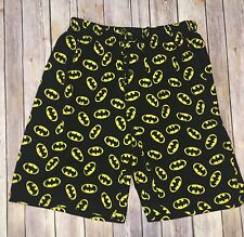 DC Comics Men's Pajama Shorts Batman 100% Cotton Boxers Size M