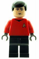 Custom Minifigure Scotty Engineer Star Trek Superhero Printed on LEGO Parts
