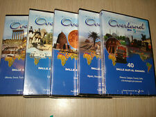 OPERA COMPLETA 5 DVD OVERLAND 6 WORLD TRUCK EXPEDITION DALLE ALPI AL SAHARA