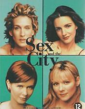 DVD BOX SET - SEX AND THE CITY season 3 - ENGLISH FRANCAIS ESPANOL ITALIANO DEU
