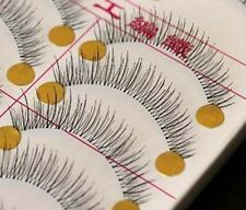 10 Pairs Makeup Handmade Natural Thick False Eyelashes Long Eye Lashes Extension