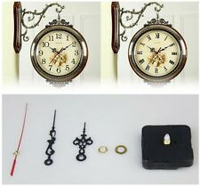 Wall Quartz Clock Movement Motor With Hour Minute Second Hands Motor Black US