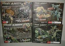 NEW TFC Toys Transformers Iron Army Tiger-1 P-51 Mustang & T34 J-7 Shinden Set