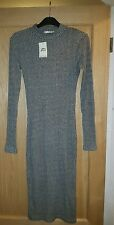 MISS SELFRIDGE GREY SIZE 8 DRESS NEW WITH TAGS