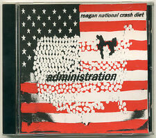 REAGAN NATIONAL CRASH DIET Administration; 2001 CD RoosterCow Records; Chicago