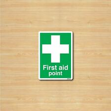 A6 First AidSign Safety Sticker - First Aid Point 105x148mm