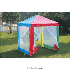Outdoor Garden Multi Colour Pop Up Kids Children Gazebo with Side Walls Tent