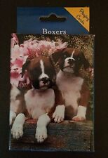 BOXER~DECK OF PLAYING CARDS~POKER RUMMY HEARTS BRIDGE SOLITAIRE