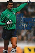 Football Photo RAY CLEMENCE Tottenham Hotspur 1982-83