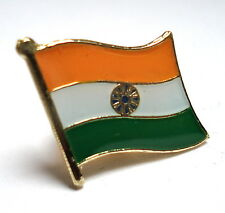 India Flag Lapel Pin Badge Superior High Quality Gloss Enamel