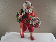 Possible Dreams CLOTHTIQUE Christmas By The Bay 4038624D Santa FIGURE Beach NIB