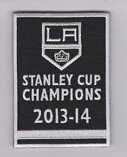 LOS ANGELES KINGS 2014 STANLEY CUP FINAL CHAMPIONS BANNER PATCH KINGS JERSEY