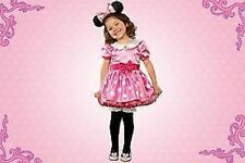 MiNNiE MoUsE~PINK~Costume~DRESS+EARS+BOW~Girls 4T~NWT~Disney Store