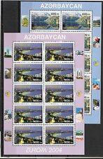 CEPT, Aserbaidschan, Europa 2004 Ferien im KB Mi 573/574 postfrisch, KW 45,00€