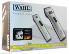 Wahl Combo Super Cordless Clipper & Super Trimmer Rechargeable Pro Hair Grooming