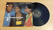 GIBSON BROTHERS - SILVER NIGHTS - LP 33 GIRI - FRANCE PRESS