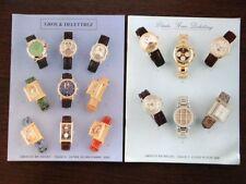 2 Catalogues vente Drouot Horlogerie Montre Collection Watches PIAGET BLANCPAIN