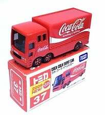 JAPAN TOMY TOMICA No.37 COCA COLA EVENT CAR 1/68 DIECAST DELIVERY TRUCK 2009