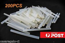 200pc Hot Clear Melt Glue Adhesive Sticks For Glue Gun 7mm x 100mm