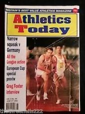 ATHLETICS TODAY - GREG FOSTER INTERVIEW - JUNE 27 1991