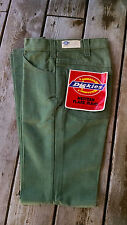Vtg Usa Dickies workwear Flare western disco bell cut 28x31 men's pants jeans