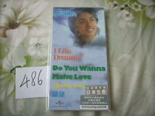 "a941981 Leslie Cheung 張國榮 Made in Japan 3"" CD EP I Like Dreaming + Do You Wanna Make Love 4-track Limited Editon No. 486"