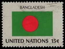 UNITED NATIONS 331 - Flag of Bangladesh (pa20367)
