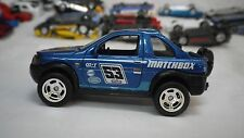 2017 Matchbox Blue Land Rover Freelander Truck Hot Wheels Custom Real Riders