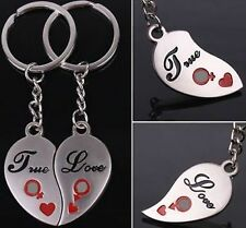 LOVE Style Chain Key Ring TRUE LOVE Keychain