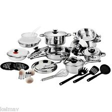 Stainless Steel 29pcs Cookware Set Silver