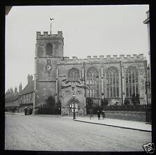 Glass Magic Lantern Slide GUILD CHAPEL NO2 STRATFORD UPON AVON C1900 ENGLAND