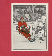 RARE 1987 RED WINGS  # 235 LEE NORWOOD ACTION  STICKER CARD