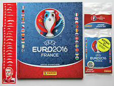 Panini EURO 2016 - Set 24 Sticker Coca Cola + 84 Updates + Album Hardcover