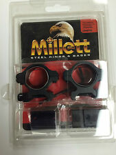 "Millett Scope Rings Combo 1"" Med Remington 700 Series matte angle-loc CP40702"