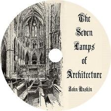 The Seven Lamps of Architecture, John Ruskin Commentary Audiobook on 1 MP3 CD