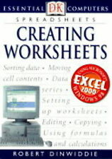Robert Dinwiddie Creating Worksheets (Essential Computers) Very Good Book
