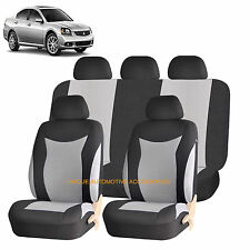 GRAY SPEED AIRBAG COMPATIBLE SEAT COVER for MITSUBISHI MONTERO GALANT