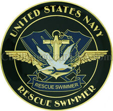 Navy Rescue Swimmer Challenge Coin and 5 inch patch