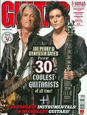 2010 Guitar World Magazine: Joe Perry & Synyster Gates 30 Coolest Guitarists