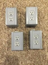 Lot Of 4 Hubbell DRUB15 Outlet Enclosure Utility Box