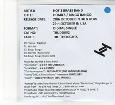 (FB613) Hot & Brass band, Homies / Bingo Bango EP - 2013 DJ CD