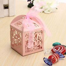 10-100x Hochzeit Gastgeschenk Box Kartonage Geschenkbox Kartonage Schachtel