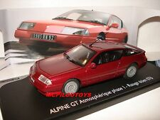ELIGOR ALPINE RENAULT GT ATMOSPHERIQUE PHASE 1 ROUGE TITIEN 076  au 1/43°