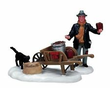 Lemax Decoration 'Roasted Chestnut Vendor', Christmas Cake Decorating Figures